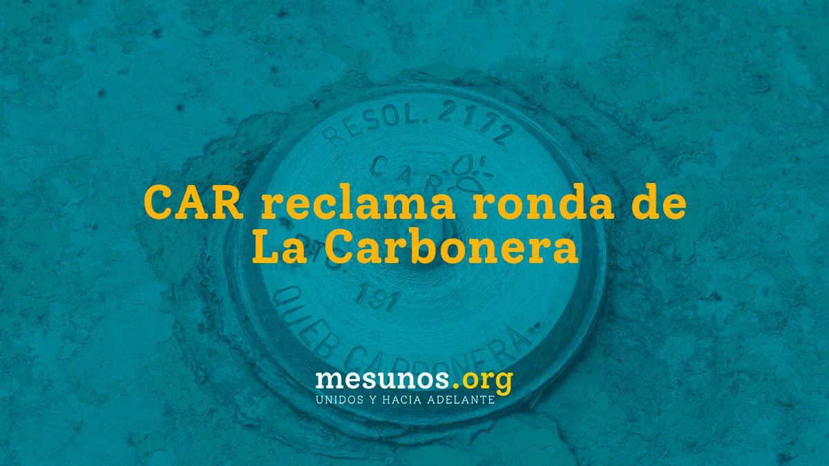 CAR reclama ronda de La Carbonera