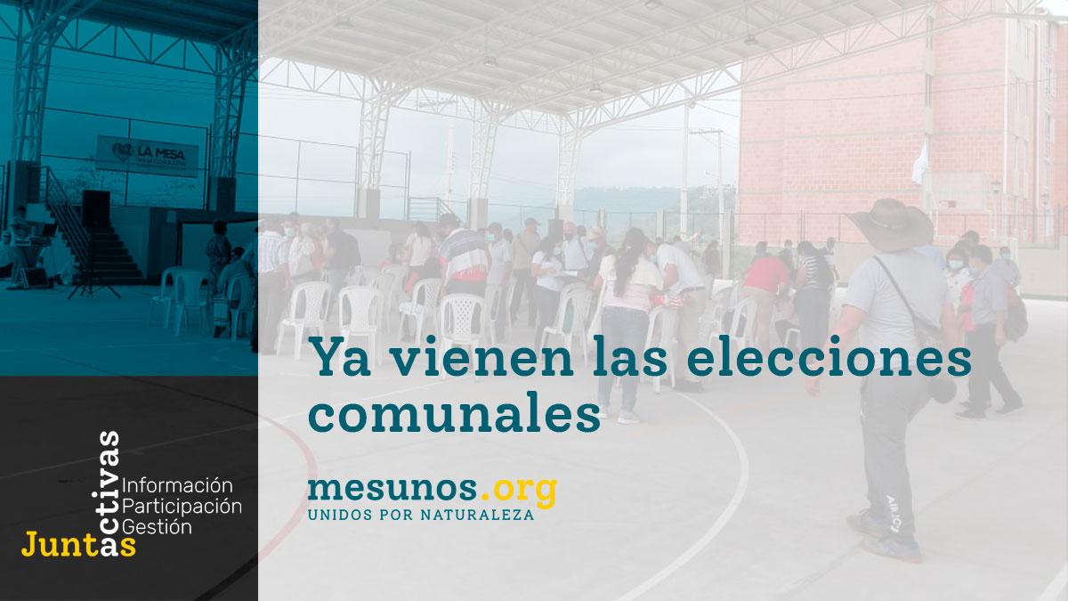 Ya vienen las elecciones comunales